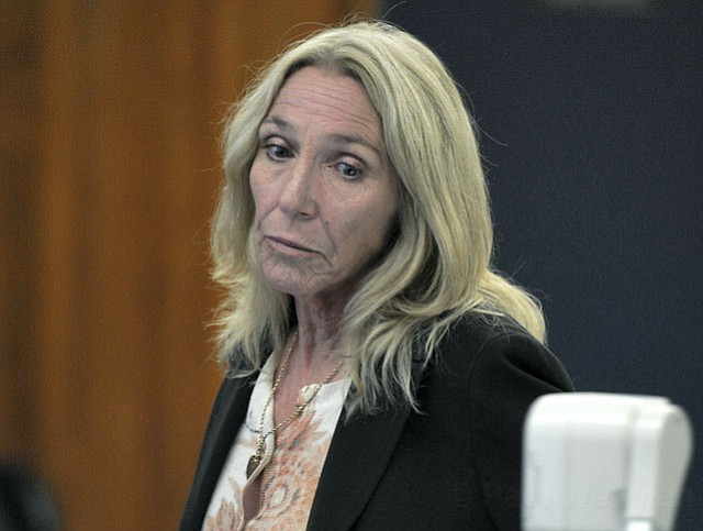 Priscilla Susman at her sentencing (May 21, 2012)