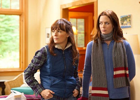 <strong>ALL IN THE FAM:</strong>  <em>Your Sister's Sister</em> has Rosemarie DeWitt and Emily Blunt as sisters Hannah and Iris.