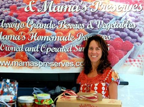 Lori Heal of Mama's Preserves
