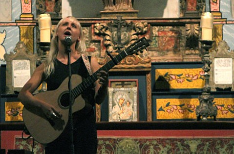 Laura Marling at El Presidio Chapel