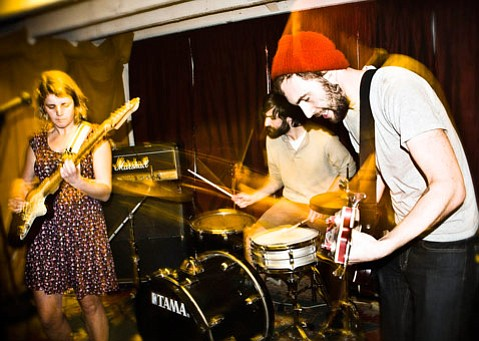 San Fran's Joyride! brings their buoyant pop punk to the Biko Co-op Garage on July 7.