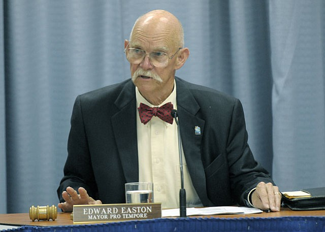 Goleta city councilmember Ed Easton