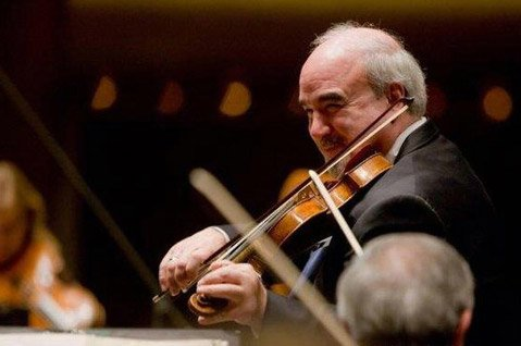 New York Philharmonic Concertmaster Glenn Dicterow
