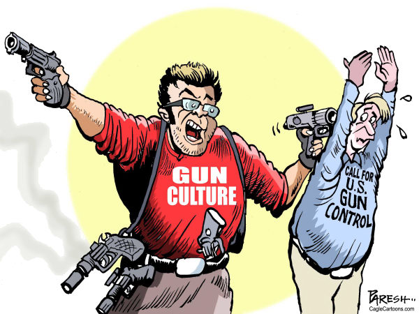 gun control should be imposed strictly in america 30062015 the facts that neither side wants to admit about gun control  the mulford act and america's racist history of gun control  saudi arabia imposed a.