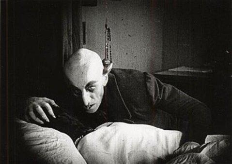 German actor Max Schreck as Nosferatu, 1922