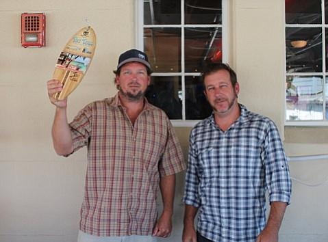 Kyle McGetrick (left) and Chris Puglisi