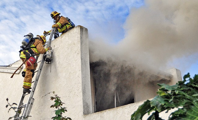 Goleta house fire