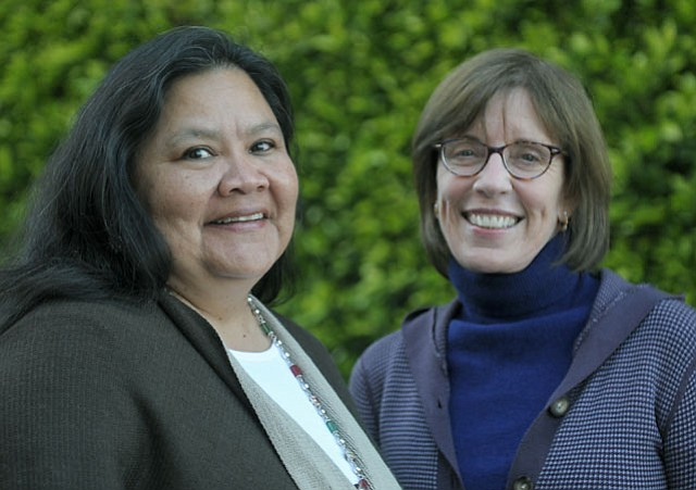 Annette Cordero (left) and Susan Christol Deacon