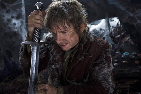 In <em>The Hobbit: An Unexpected Journey</em> a young Bilbo Baggins (Martin Freeman) is enlisted by the wizard Gandalf to help a baker's dozen of dwarves reclaim their lost kingdom.