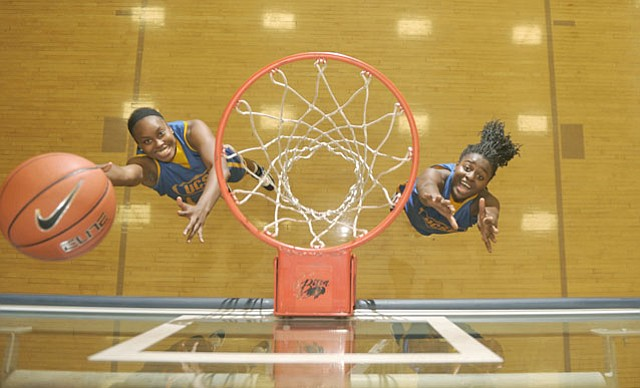 Sweets Underwood and Jasmine Ware find success and friendship on UCSB's Women's basketball team.