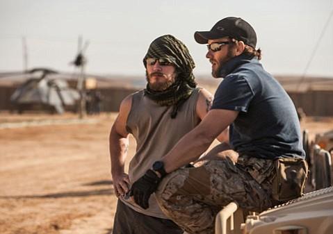 Joe Ledgerton and Chris Pratt star in <i>Zero Dark Thirty</i>.