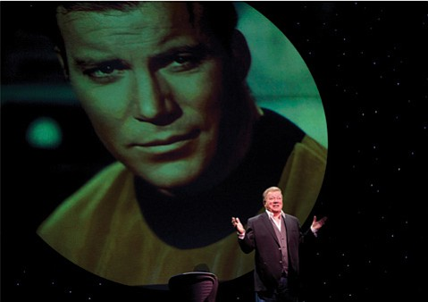 Captain Kirk himself brings his live show to the Arlington Theatre on Friday, January 18.