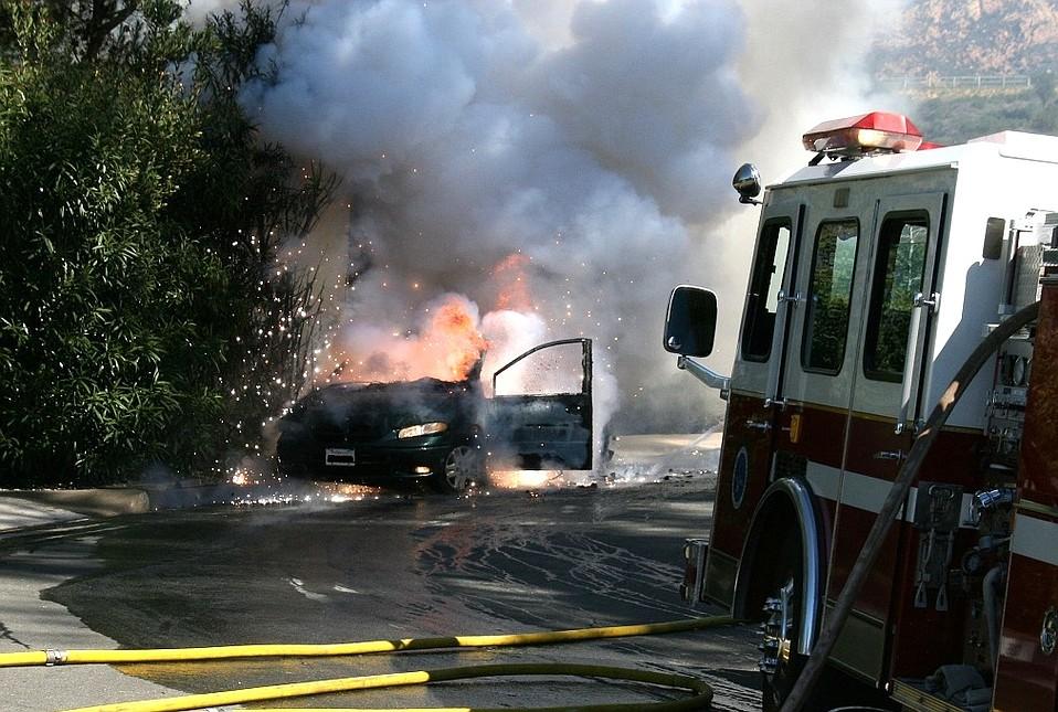 Feb 25 vehicle fire