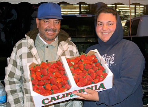 Erica Rodriguez (right) of Rodriguez Farms