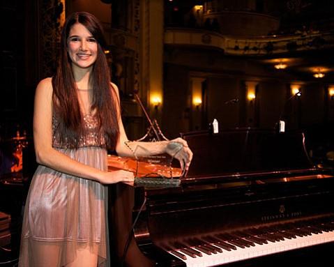 Santa Barbara Teen Star 2012 winner Rachel La Commare