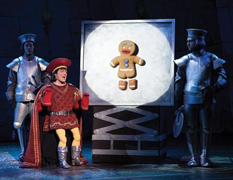 The musical version of Dreamworks' <em>Shrek</em> is full of new stage magic.
