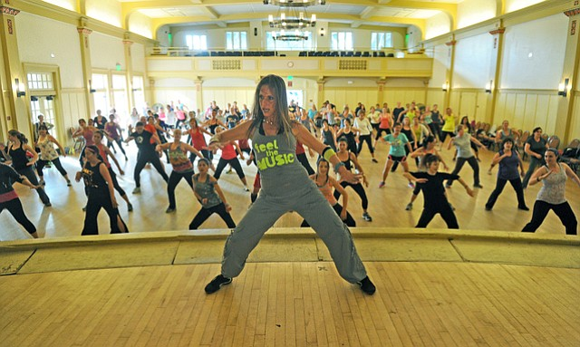 Zumba is the number-one fitness trend in the U.S., and instructor Josette Roozen-Tkacik's classes are extremely popular.