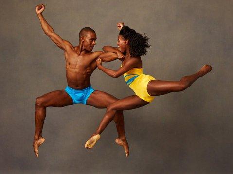 Alvin Ailey dance troupe
