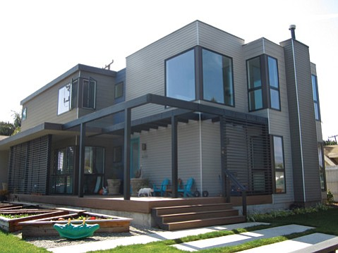 Modern and modular homes of s b for Modern style manufactured homes
