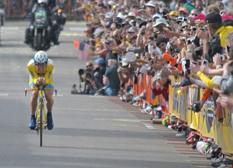 <b>PASSING THROUGH:</b>  The Amgen Tour of California returns to Santa Barbara for the first time since 2008.