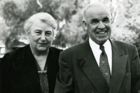 Barbara and Elmer Whittaker