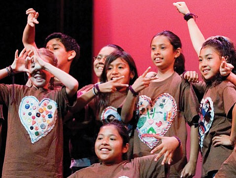 <b>GETTING CONNECTED:</b> Through dance, SBDI teaches students to value their lives — and each other's.