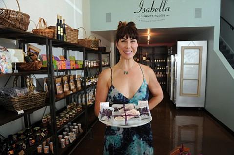 Isabella Gourmet Foods owner Amy Isabella Chalker