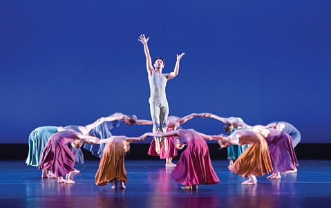 """<b>RESURRECTION:</b> The UCSB Dance Company performed excerpts from José Limón's 1967 masterwork """"Psalm."""""""