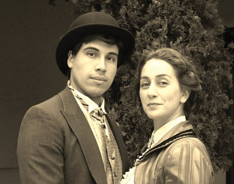<b>CAPTIVATING COUPLE:</b> Richard Lonsbury and Jennifer Marco star in Oscar Wilde's most famous comedy.