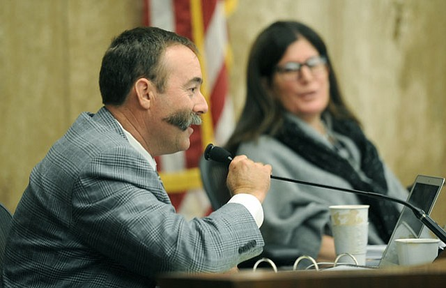 <b>ODD MAN OUT:</b>  Fourth District Supervisor Peter Adam, sitting through his first budget cycle, refused to approve the county's financial plan because he didn't think there was enough funding set aside for road and building maintenance.