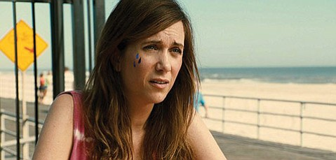 <b>JERSEY SNORE:</b>  Kristen Wiig plays a washed-up playwright who returns home to New Jersey in the disheveled dramedy <em>Girl Most Likely</em>.