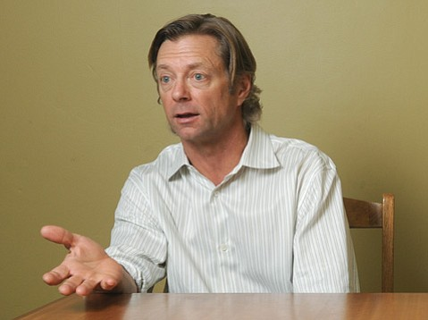 <b>TOUGH SELL:</b>  Robert Nunn of Sunset Exploration will have to persuade the State Lands Commission and an oil-wary public that the marine environment would not be put at risk if his drilling proposal is approved.