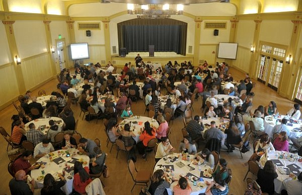 Community Action Commission Service Provider Summit at the Carillo Rec Center bringing many agencies together to discus solutions to youth and gang related issues (July 29, 2013)
