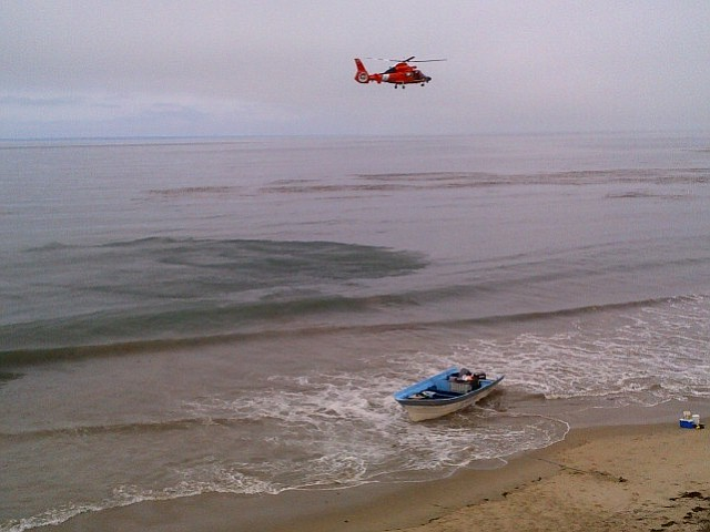Panga boat discovered on Tajiguas Beach