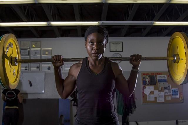 UCSB track-and-field star Maureen Ajoku vies for U.S. bobsled team brakeman.