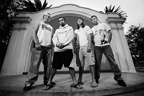 <b>REPRESENT:</b>  Rebelution's I.V. party days are long behind them. The band plays the S.B. Bowl on Sunday.