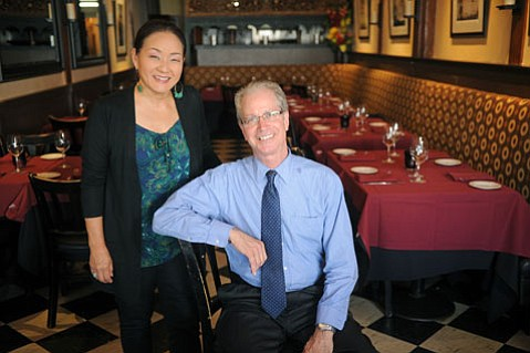 <b>TASTE THIS: </b> Tina Takaya and her husband Richard Yates have cochaired Taste of the Town together for seven years.