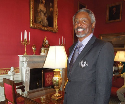 <b>HONOR ROLL:</b>  Former receiver Otto Stowe (pictured) and 30 of his 1972 Miami Dolphins teammates were honored at the White House.