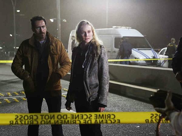 Demián Birchir and Diane Kruger star in FX's <em>The Bridge</em>.