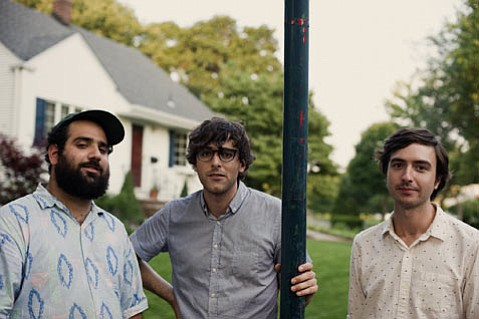 <b>EAST MEETS WEST:</b>  New Jersey's Real Estate (from left: Alex Bleeker, Martin Courtney, and Matt Mondanile) head to Cali for a string of tour dates this week. They play SOhO Restaurant & Music Club on September 25.