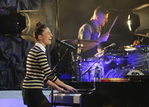 Sara Bareilles opens for OneRepublic at the Santa Barbara Bowl
