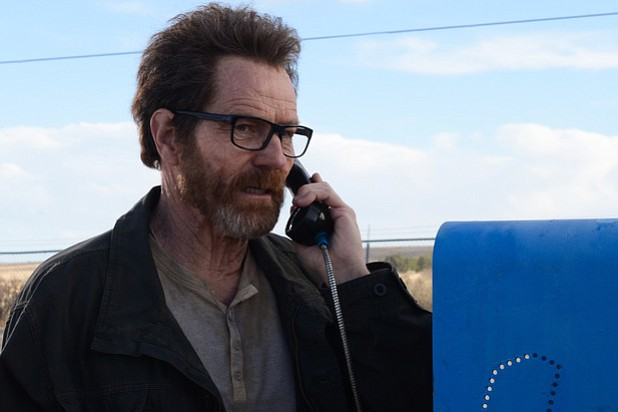 Bryan Cranston's Walter White met his match during Sunday's series finale of <em>Breaking Bad</em>.