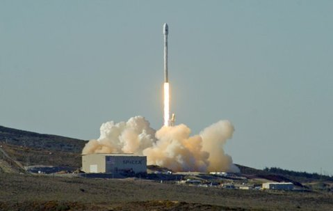 First-ever SpaceX launch of a Falcon 9 rocket from Vandenberg's Space Launch Complex-4 (Sept. 29, 2013)