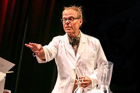<b>MASTER MULTITASKER:</b>  Alton Brown is a man of many talents, most of which will be on display during his Edible Inevitable Tour.