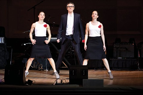 The host of NPR's <em>This American Life</em> will share the stage with modern-dance group Monica Bill Barnes & Company in an unprecedented blend of dance and radio.