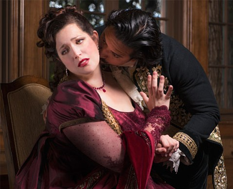 <b>PRIMA DIVA:</b>  Soprano Marcy Stonikas takes the Granada stage this weekend in the title role of Opera Santa Barbara's production of <i>Tosca</i>.