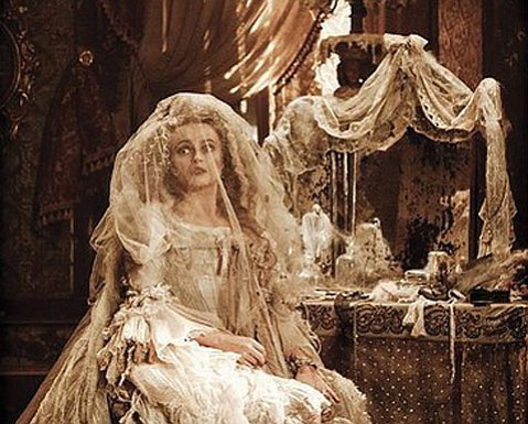 <b>LOVE HER, LOVE HER, LOVE HER!</b> Helena Bonham Carter's Miss Havisham meets her sinister quota in <i>Great Expectations</i>.