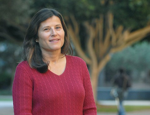 "<b>GETTING INTO COLLEGE:</b>  ""When I'm reading your personal statement, I'm trying to picture you, your environment, your family situation, and your community,"" said UCSB admissions director Lisa Przekop (pictured) of what she likes to see in applicants' personal statements. ""Apply to a broad range of schools,"" she also advises. ""You have until May to decide, so don't start eliminating schools at this point."""