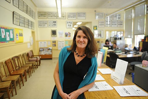 "<b>HELPING HANDS:</b>  From meeting with students who have Ds and Fs to writing letters of recommendation to advising students on social and emotional matters, high school counselors have daily schedules that are often packed. ""But that's why [my job is] so cool. The variety is incredible,"" said Santa Barbara High School counselor Susan Snyder (pictured)."