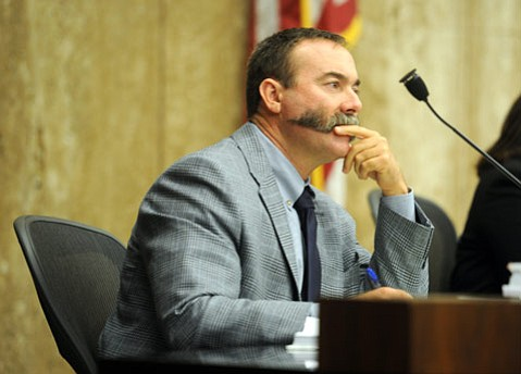 <b>TROUBLE IN PARADISE?</b>  Supervisor Peter Adam, frustrated over the tighter standard imposed on Santa Maria Energy's oil well project by the three South County supervisors last week, hinted in an op-ed that a county split may be in order.